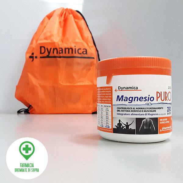 Dynamica Magnesio pure confezione 150 grammi con sacca