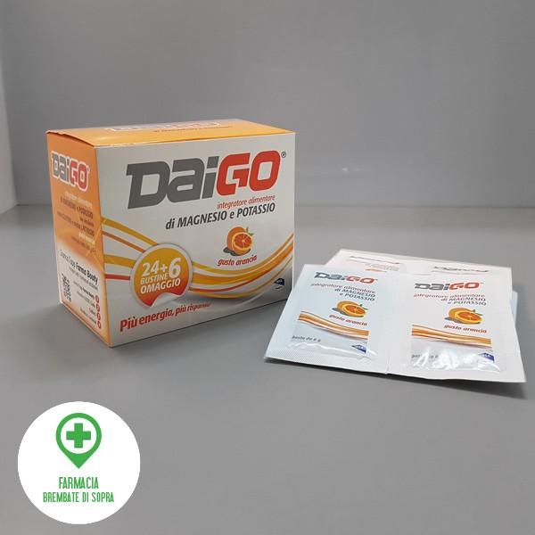 Daigo integratore alimentare con Magnesio e Potassio
