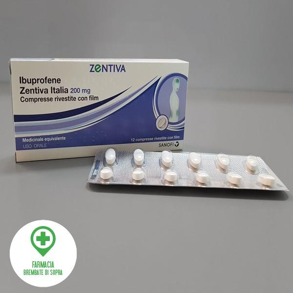Ibuprofene Zentiva 200 mg compresse rivestite