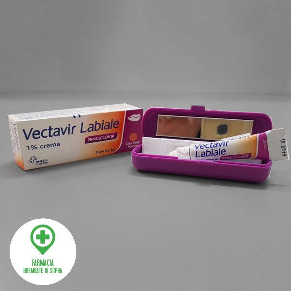 Vectavir labiale crema per l'herpes