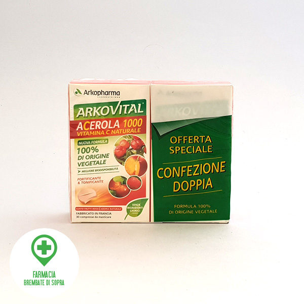 Arkovital acerola 1000 vitamina C naturale