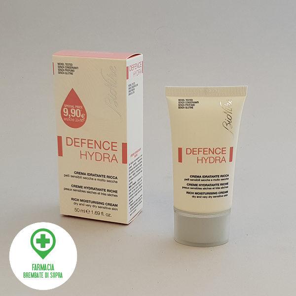 Bionike defence hydra crema idratante ricca farmacia brembate di sopra