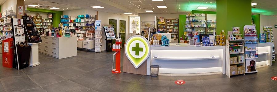 Interno-della-Farmacia Brembate di Sopra