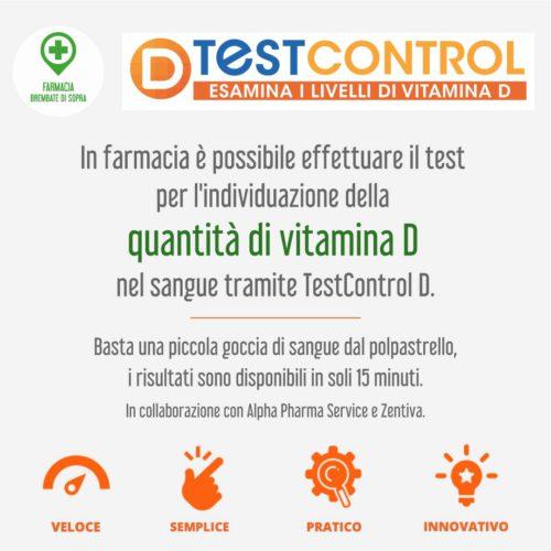 test vitamina D farmacia brembate sopra